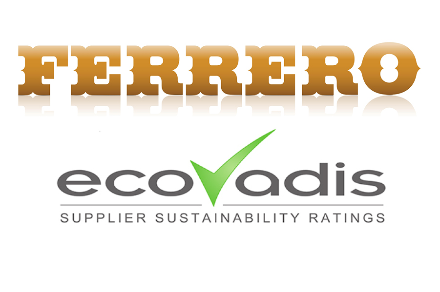 Ferrero renews partnership with EcoVadis to evaluate Supplier Sustainability Performance
