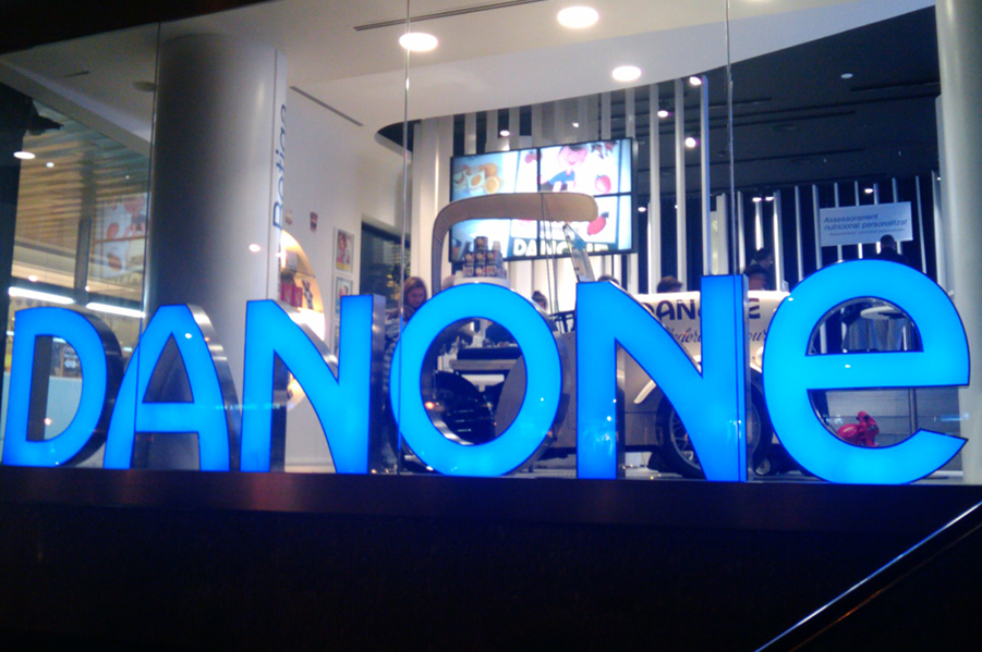 Danone launches new company signature 'One Planet. One Health'