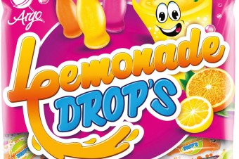 Lemonade Drops - Candies filled with fizzy filling, 90g