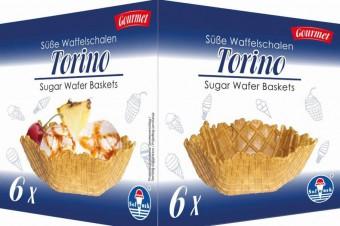 Torino Sugar Wafer Baskets