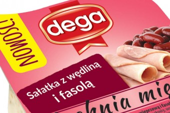 Salad with cold meats and red beans 140g: A new salads line in Dega offer