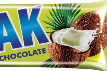 BOTAK 40g. More coconut bars BOTAK in the new version.