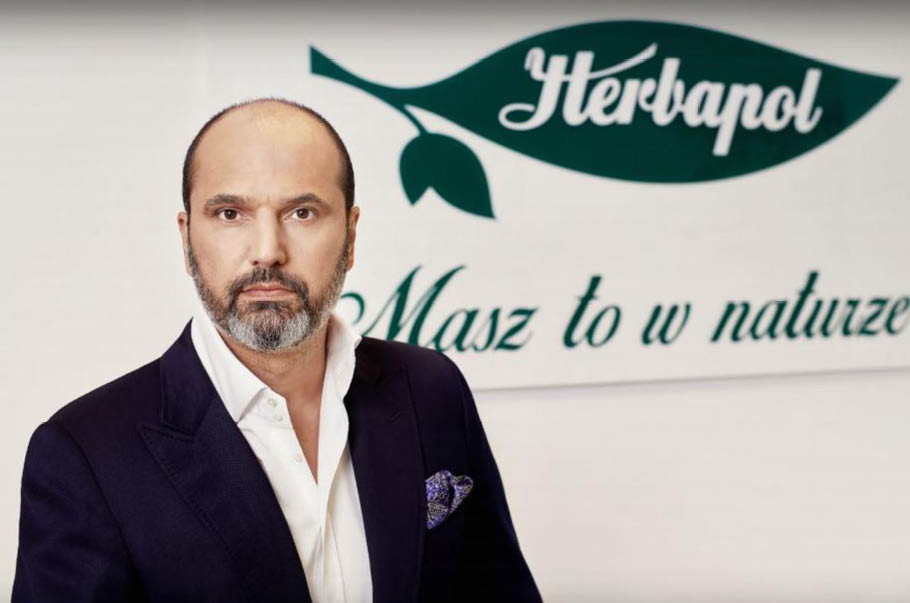 "About the Polish healthy food, Polish herbs, teas and other excellent Herbapol products we talk with Evangelos Evangelou, President of the Board, ""Herbapol – Lublin S.A."