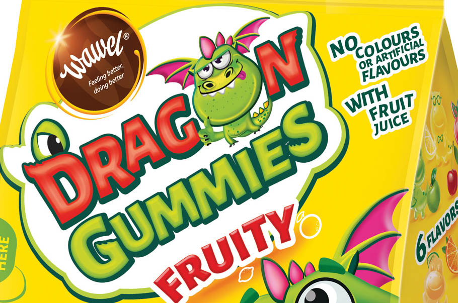 Dragon Gummies – a new Wawel category, simple ingredients