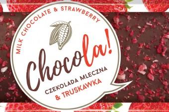 CHOCOLA! Milk chocolate & Strawberry