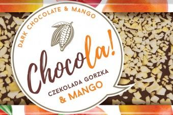 CHOCOLA! Dark chocolate 60% cocoa & Mango
