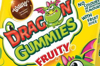 Dragon Gummies – a new Wawel category, simple ingredients and innovative packaging