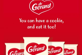 Dr Gerard's  new packaging