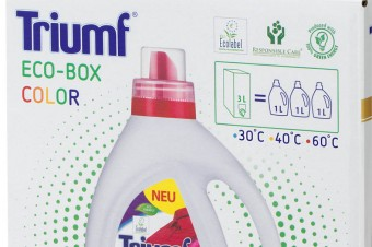 Washing liquid ECO-BOX Triumf Color 3 l